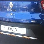 Renault Kwid Climber rear bumper