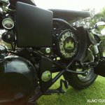 Royal Enfield Classic 350 Multi Spoke Bobber by XLNC Customs badging
