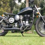 Royal Enfield Classic 350 Multi Spoke Bobber by XLNC Customs side