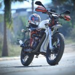 Royal Enfield Electra 350 ST350 by Haldankar Customs front