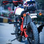 Royal Enfield Electra 350 ST350 by Haldankar Customs rear