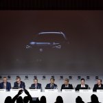 Seat mid-size SUV front three quarters teaser