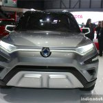 SsangYong XAVL concept front 2017 Geneva Motor Show Live