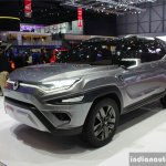 SsangYong XAVL concept front quarter 2017 Geneva Motor Show Live