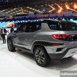 SsangYong XAVL concept rear quarter 2017 Geneva Motor Show Live