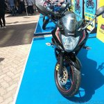 Suzuki Gixxer SF at Gixxer Day in Mumbai black front
