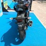 Suzuki Gixxer SF at Gixxer Day in Mumbai black rear
