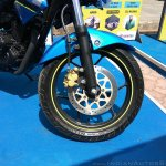 Suzuki Gixxer day in Mumbai front disc