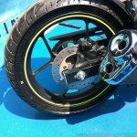 Suzuki Gixxer day in Mumbai rear disc