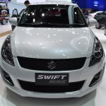 Suzuki Swift RX-II front showcased at the BIMS 2017