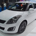 Suzuki Swift RX-II front three quarter showcased at the BIMS 2017