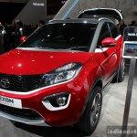 Tata Nexon Geneva Edition front three quarter at the 2017 Geneva Motor Show