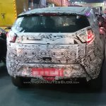 Tata Nexon base variant rear spotted testing