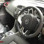 Tata Tiago Automatic (AMT) interior at dealership yard