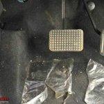 Tata Tiago Automatic (AMT) pedals at dealership yard