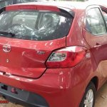 Tata Tiago Automatic (AMT) rear at dealership yard