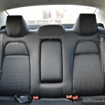 Tata Tigor First Drive rear seat Review