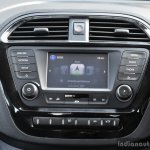 Tata Tigor center console First Drive Review
