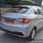 Tata Tigor diesel rear quarter First Drive Review