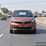 Tata Tigor petrol front dynamic First Drive Review