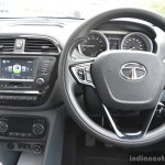 Tata Tigor petrol interior First Drive Review