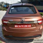 Tata Tigor petrol rear First Drive Review