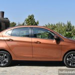 Tata Tigor petrol side First Drive Review