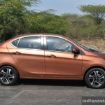 Tata Tigor petrol side dynamic First Drive Review