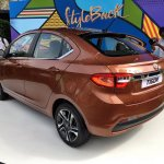 Tata Tigor rear three quarters