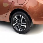 Tata Tigor rear wheel