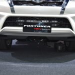 Toyota Fortuner TRD Sportivo bumper at the BIMS 2017