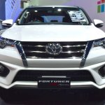 Toyota Fortuner TRD Sportivo front at the BIMS 2017