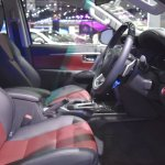 Toyota Fortuner TRD Sportivo front cabin at the BIMS 2017