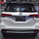 Toyota Fortuner TRD Sportivo rear at the BIMS 2017