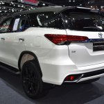 Toyota Fortuner TRD Sportivo rear quarter at the BIMS 2017