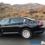 VW Passat black spy shot India