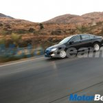 VW Passat front three quarters spy shot India