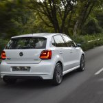 Volkswagen Polo R-Line rear three quarter motion