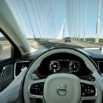 Volvo future sedan interior teaser