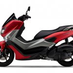 Yamaha NMax 155 side left red