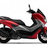 Yamaha NMax 155 side right red