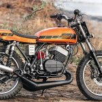 Yamaha RD350 Sun Chaser by JC Moto side