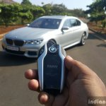 2017 BMW 7 Series M-Sport (730 Ld) display key Review