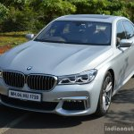 2017 BMW 7 Series M-Sport (730 Ld) front quarter Review