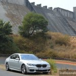 2017 BMW 7 Series M-Sport (730 Ld) front quarter dam Review