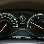 2017 BMW 7 Series M-Sport (730 Ld) instrument display Review