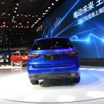 2017 BYD Song 7 rear at Auto Shanghai 2017