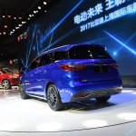 2017 BYD Song 7 rear three quarters at Auto Shanghai 2017