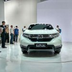 2017 Honda CR-V front at Auto Shanghai 2017