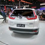 2017 Honda CR-V rear at Auto Shanghai 2017